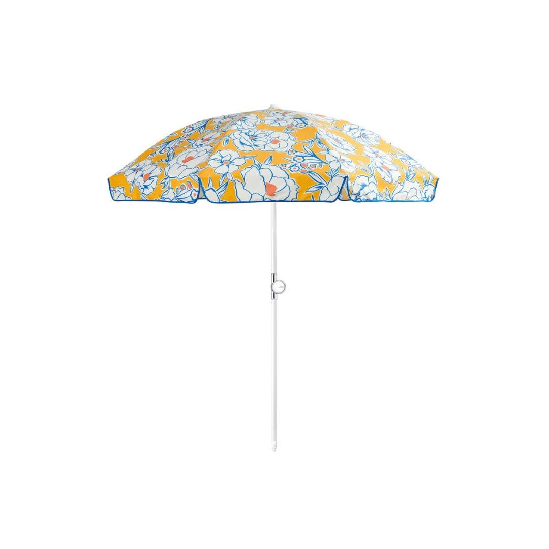 Basil Bangs Beach Umbrella - Buttercup   FENTON & FENTON