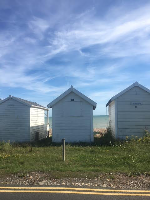 Sussex beach-huts at Cooden Beach
