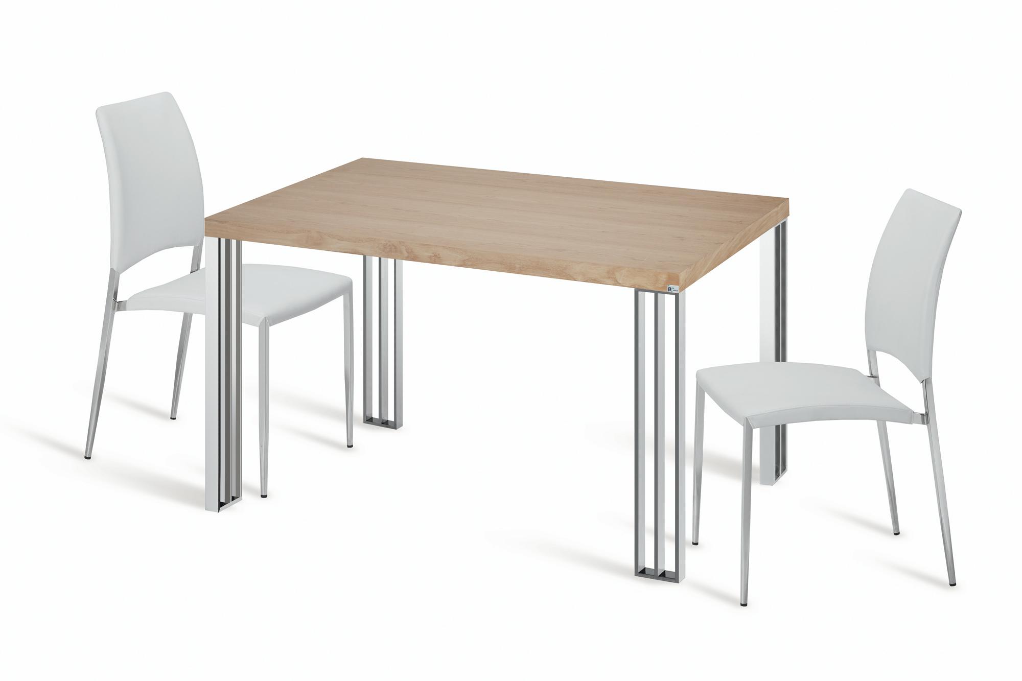 FUSION - A mesa de cozinha que se funde com a sua cozinha…. Os materiais e acabamentos foram escolhidos para esta coleção de mesas de cozinha a partir das cozinhas mais modernas e requintadas. Esta coleção de mesas e cadeiras de cozinha vai permitir elevar a sua cozinha a um outro nível de elegância e conforto.
