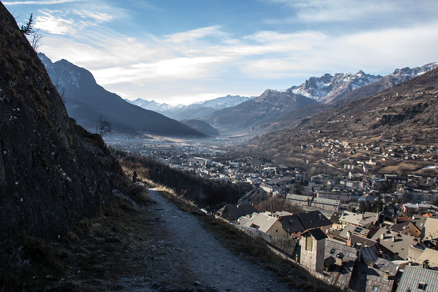The alpine town of Briançon. Photo by  Raffaele Sergi . Licenced through  Creative Commons