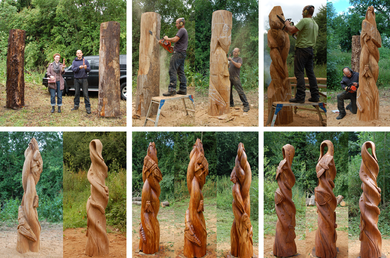 CARVED TO SCALE