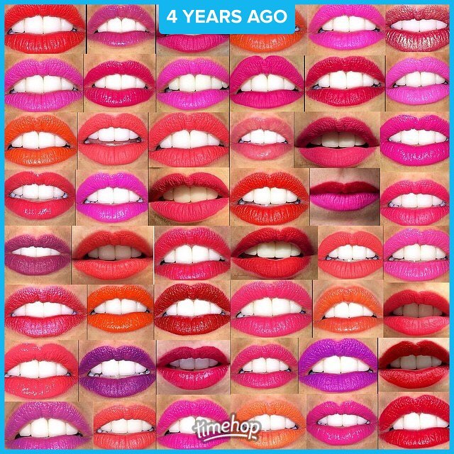 In honor of #nationallipstickday here is a collage from my blogging days of some of my fave lipsticks #lips #makeup #makeupartist #makeupartistnyc #lipstick #lotd #photooftheday #bestoftheday