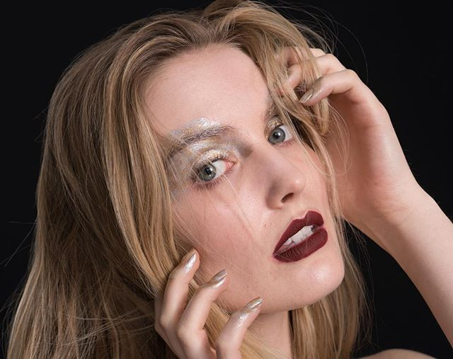 Unretouched photos for #throwbackthursday - Model @caseymcsherry MUA Me! #makeup #makeupartist #mua #muanyc #makeupartistnyc #nymakeupartist #editorial #editorialmakeup #avantgarde #avantgardemakeup #metal #metallicmakeup #mehron #motd #fotd #bestoftheday #photooftheday #unretouched