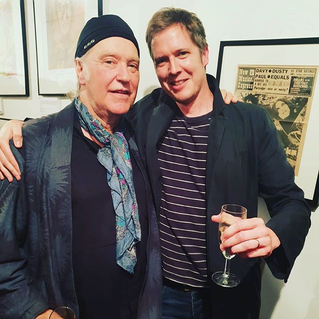 Excited by the rumours of a Kinks reunion - reposting this pic of myself and Dave Davies at the launch of the remastered Village Green Preservation Society album - fingers crossed it's gonna happen. . . #kinks #thekinks #davedavies #raydavies #villagegreenpreservationsociety #music #album