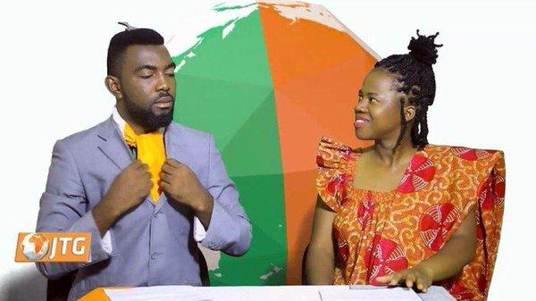 Journal Gbalé, a news report spoken in Nouchi, an ivorian slang