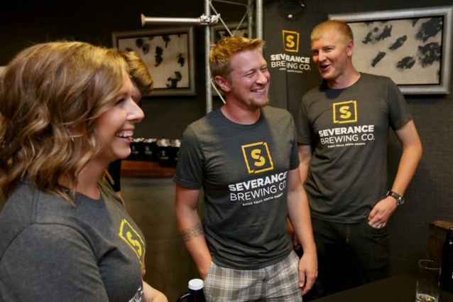 Brewery leases first space at The Cascade - Aug. 6, 2018 // SiouxFalls.BusinessSeverance Brewing Co. plans to open in the new downtown Cascade project next spring.