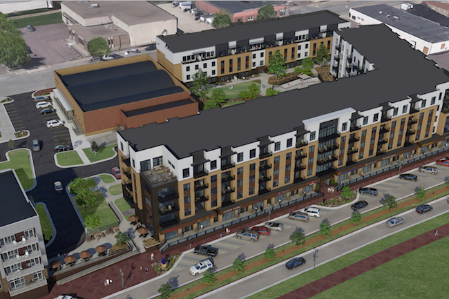 As downtown Cascade's wait list grows, lottery party is planned to start leasing - July 25, 2018 // SiouxFalls.BusinessThe Cascade apartment project on North Phillips Avenue doesn't open for residents until next spring, but demand is so strong it might take a little luck to lock in an apartment.