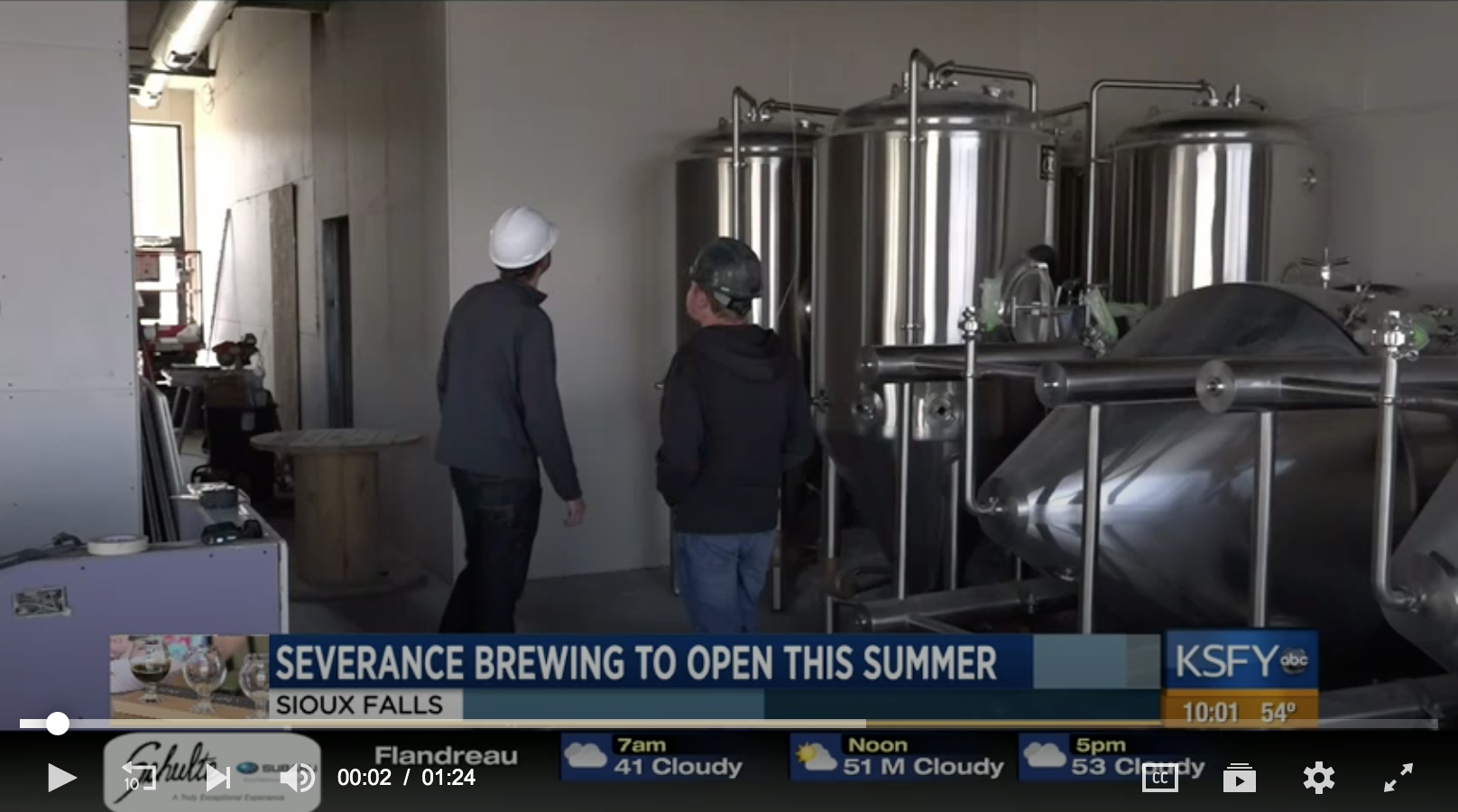 Severance Brewing Co. opening this summer - May 5, 2019 // Ricardo Lewis, KSFYUptown Sioux Falls is going to be bustling with fun things to do this summer and if you're old enough you can experience a brand new one of a kind brewery opening this summer.