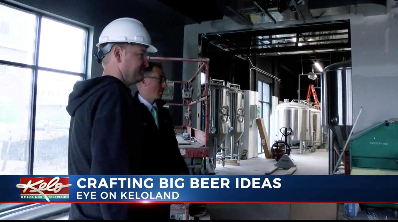 Crafting big beer ideas in KELOLAND - May 24, 2019 // Matt Holsen, KELOIt takes a lot of blood, sweat and tears to make your own beers and no one knows that better than the owners of Severance Brewing Company.