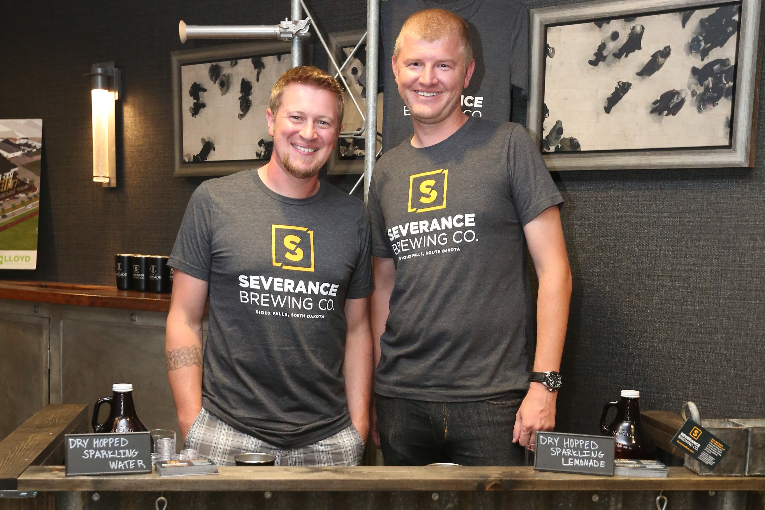 Severance Brewing Co. announces opening date - July 3, 2019 // Austin Lammers, Sioux Falls Argus LeaderThe doors to Severance Brewing Company will be open to Sioux Falls in less than a month.The new brewing company is set to open its brewery and taproom on Aug. 2 inside The Cascade, the apartment complex on Phillips Avenue across from the Levitt Shell inside Falls Park.