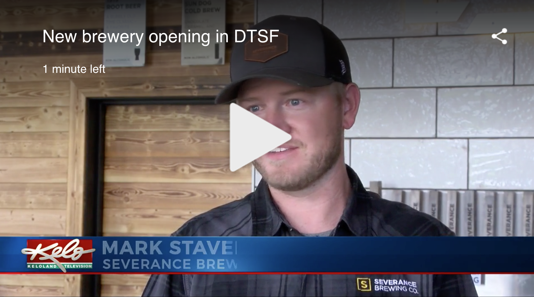 New brewery opening in DTSF - July 29, 2019 // Sammi Bjelland, KELOThe newest brewery to join the Sioux Falls craft beer scene is located at the Cascade Building in Downtown Sioux Falls. This budding business hasn't sold any beer just yet, but they think their unique spin on flavors will set them apart.