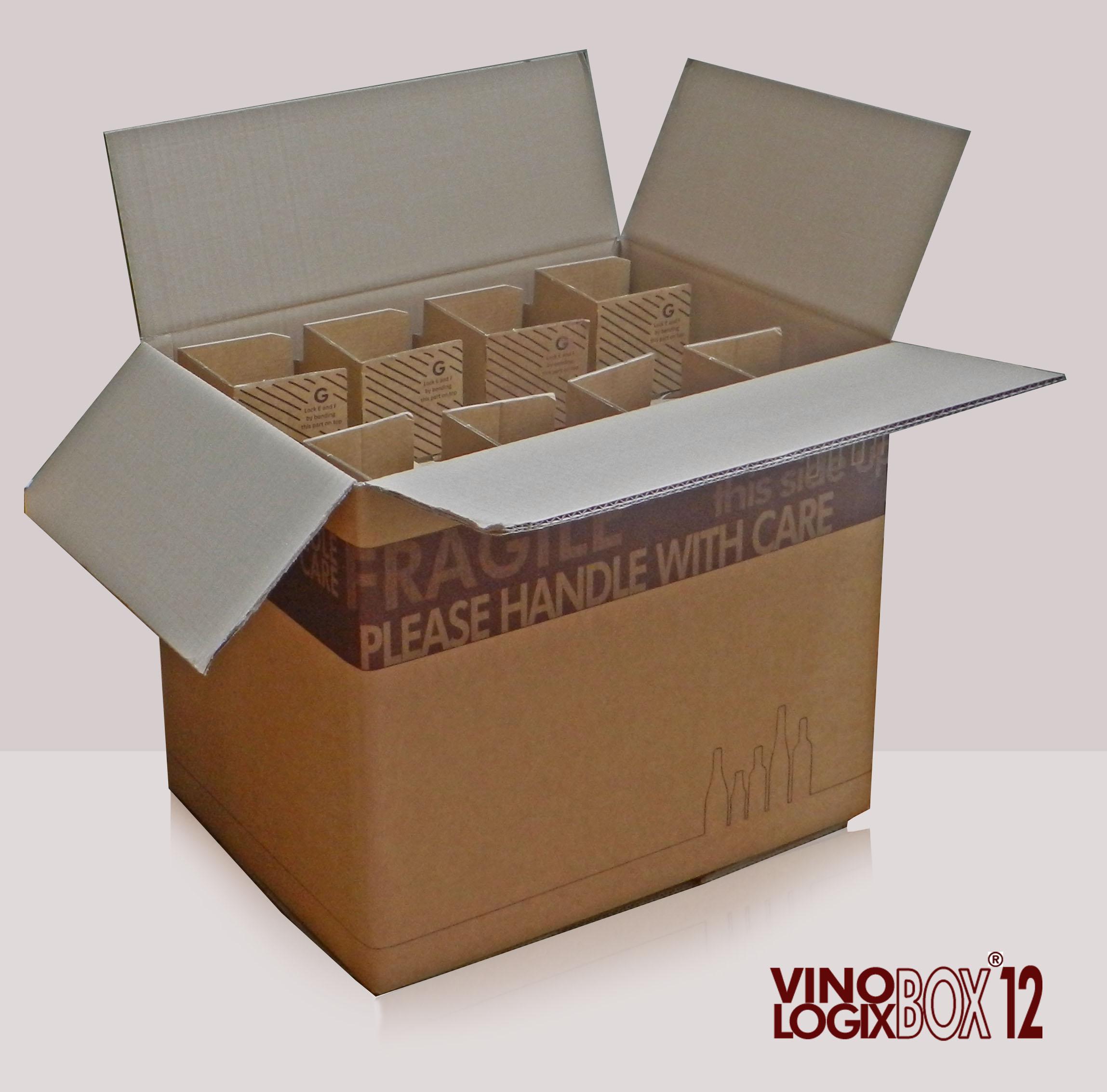12-fles verpakking