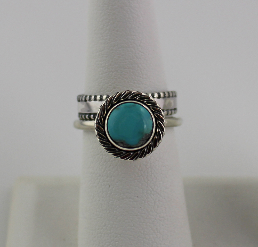 Turquoise ring with beaded band front view resized.jpg