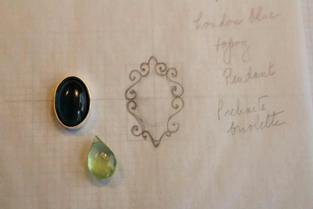 Gene on paper with stones resized.jpg