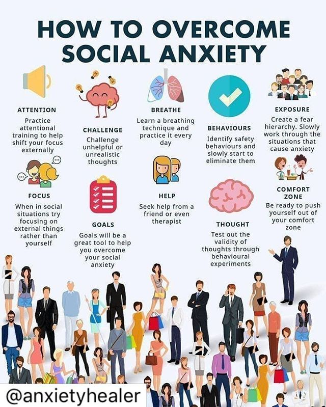 Social anxiety impacts so many people at various levels of intensity. Take a moment to review a few helpful tips to assist with this sometimes debilitating feeling. If you are struggling with this, reach out for help. Cincinnati is filled with wonderful clinicians who can help. At Cincinnati Renewed Wellness we work through this often and love watching our clients blossom and take ownership in their lives. It takes practice and can feel overwhelming but it's worth it! You got this everyone! Happy Thursday! 💪🏼 . . . #socialanxiety #wellness #mentalhealthawareness #mentalhealth #help #cincinnati