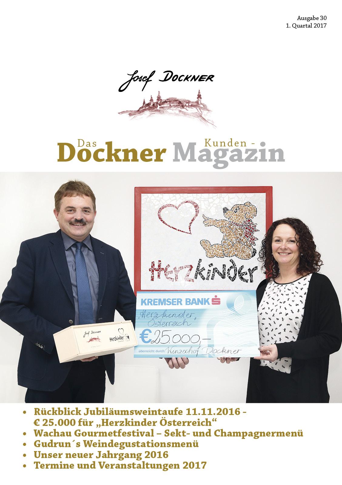 Kundenmagazin Jänner 2017