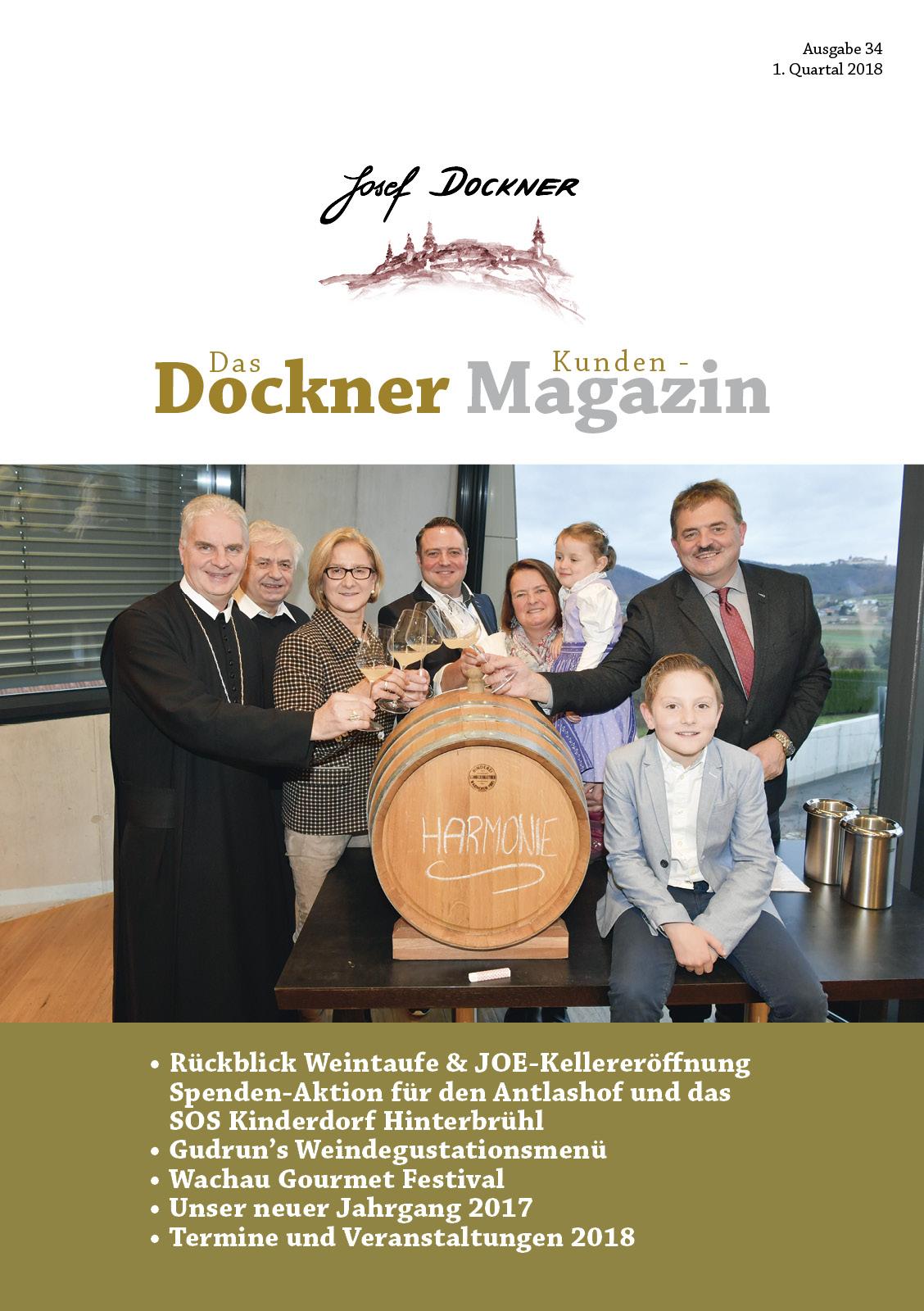 Kundenmagazin Jänner 2018
