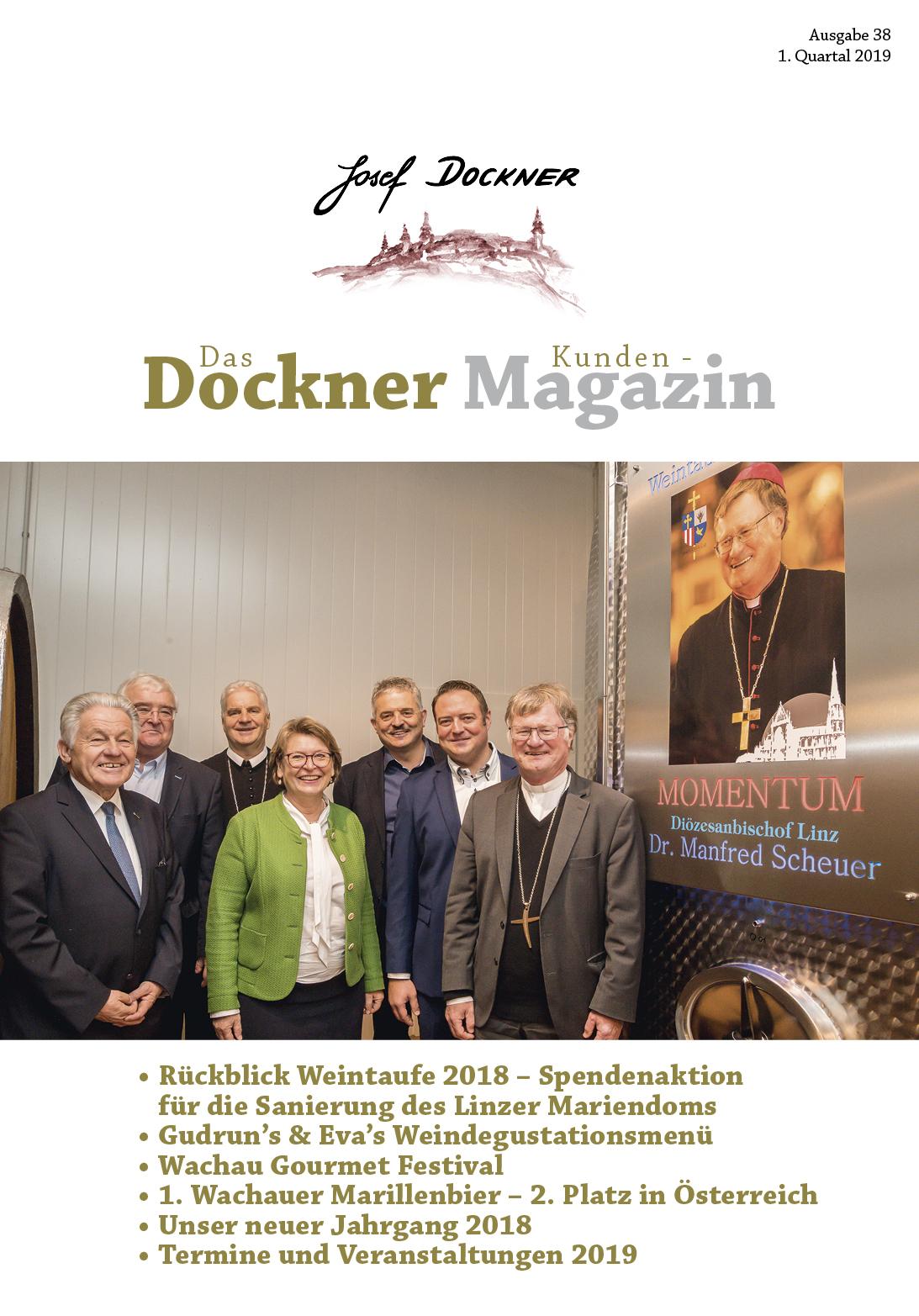 Kundenmagazin Jänner 2019