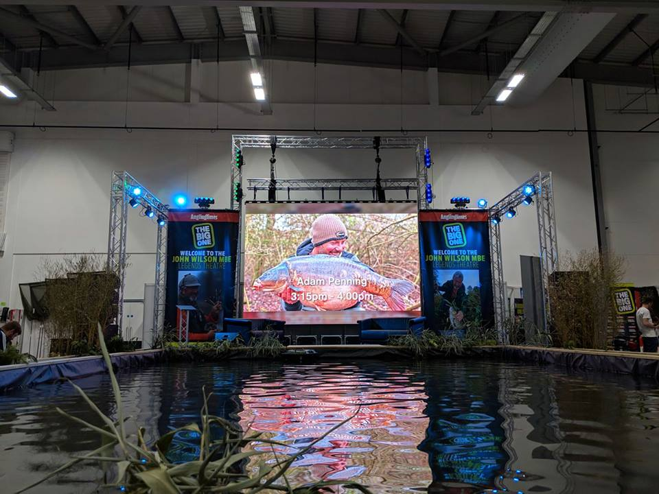 NEW DEMO ARENA   Our demonstration theatre is where we're bringing your favourite fishing stars to our new indoor lake and Main Stage area! Sit back and relax in comfort as they dish out loads of great instruction and entertainment with advice for every style of angler and amazing stories throughout both days of the show.  We've secured some of the greats of fishing this year, including personalities you'll only be able to see at The Big One in 2020… get those autograph books out too!
