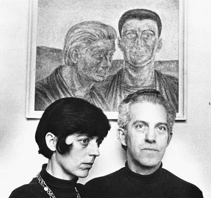 """""""Ruburt und Joseph"""", von Robert F. Butts, mit Jane und Rob im Vordergrund."""