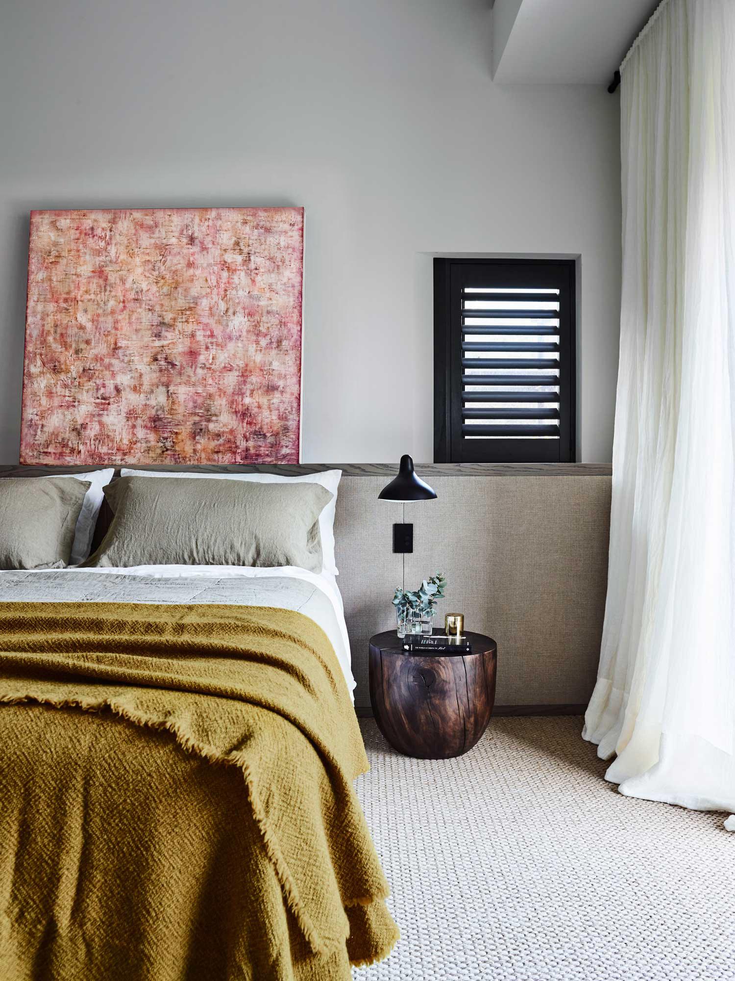amanda moritz art bedroom interior design
