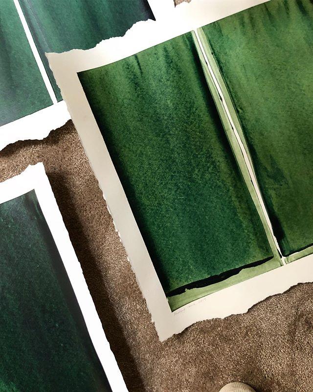 Greens x 5 🎨💚 #amandamoritzart