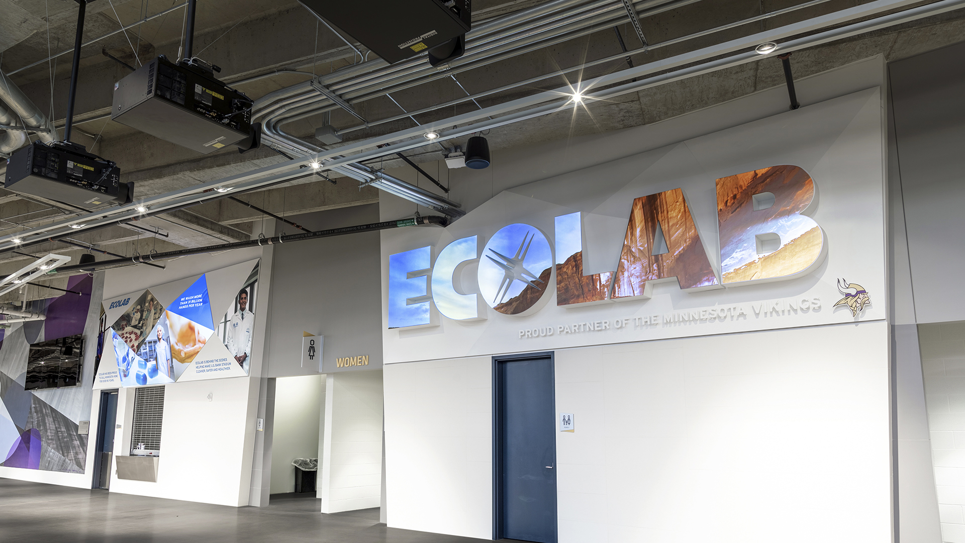 Front Projection Film Installation