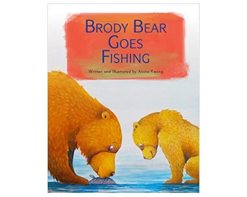 Brody Bear Goes Fishing