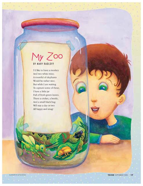 "The Friend Magazine ""My Zoo"" Sept 2005"
