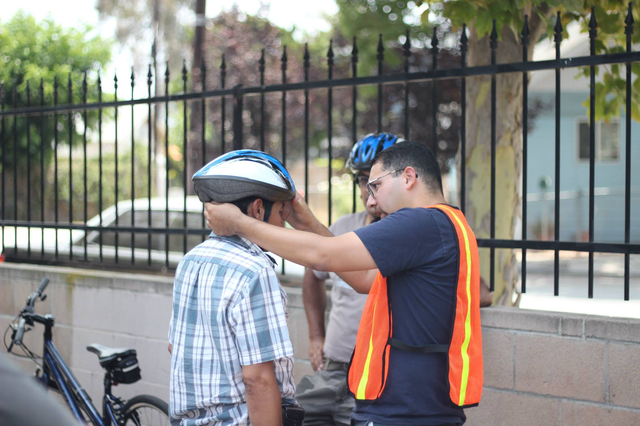 Andy fitting helmet 6.2013.jpg