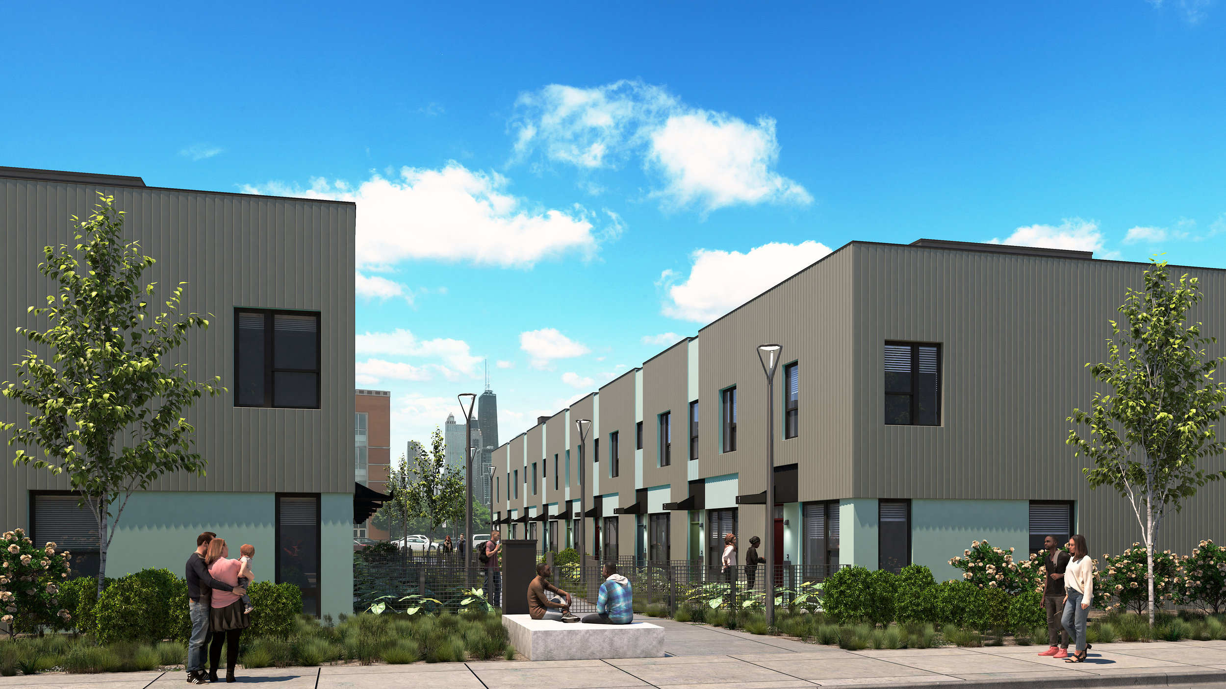 P.S. you're onto something   Contemporary 2 + 3-bedroom townhomes