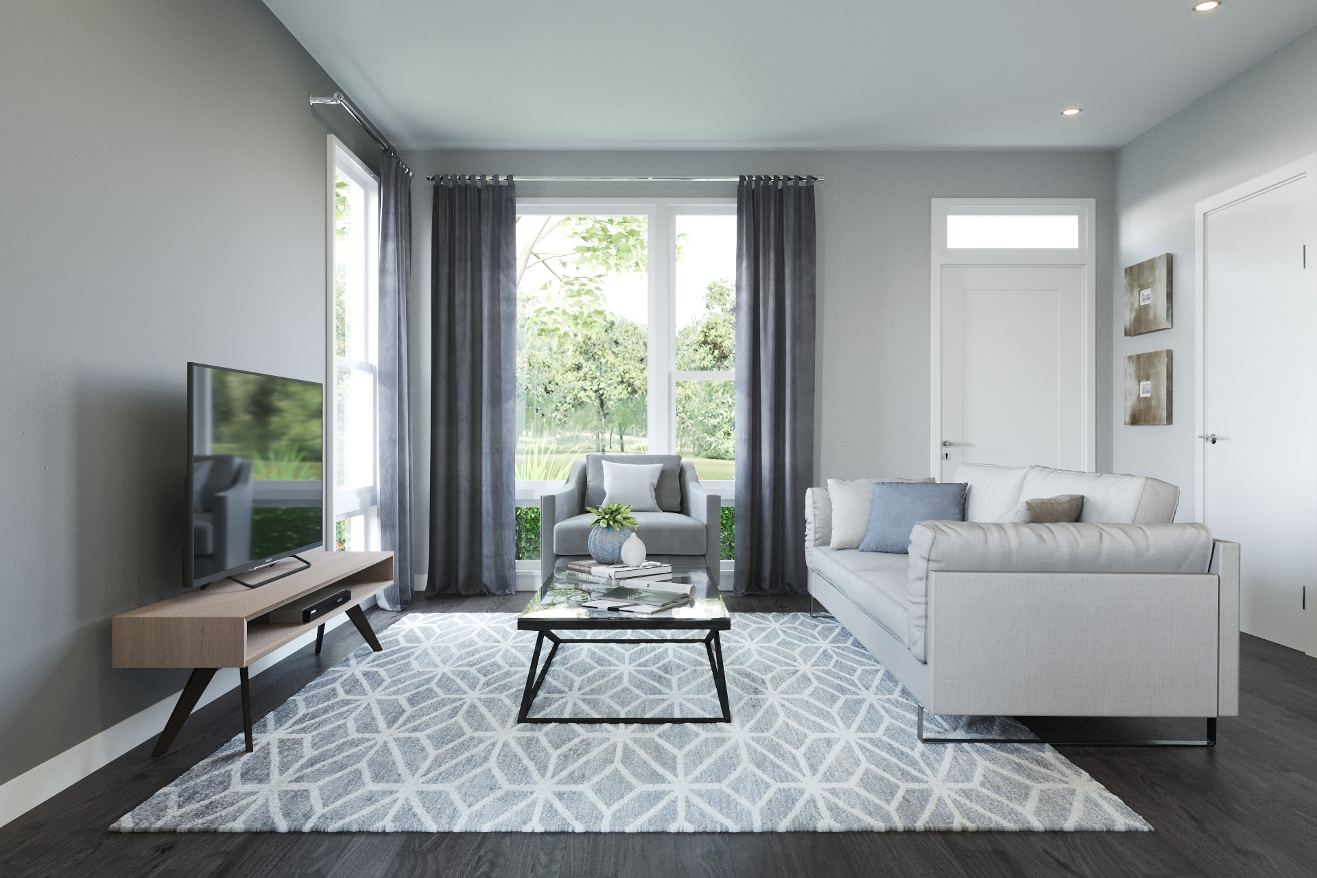spacious plans - Parkside Old Town's 2 and 3-bedroom townhomes boast spacious floor plans with bright interiors, stainless steel appliances, hardwood floors and attached 2-car garages per plan.