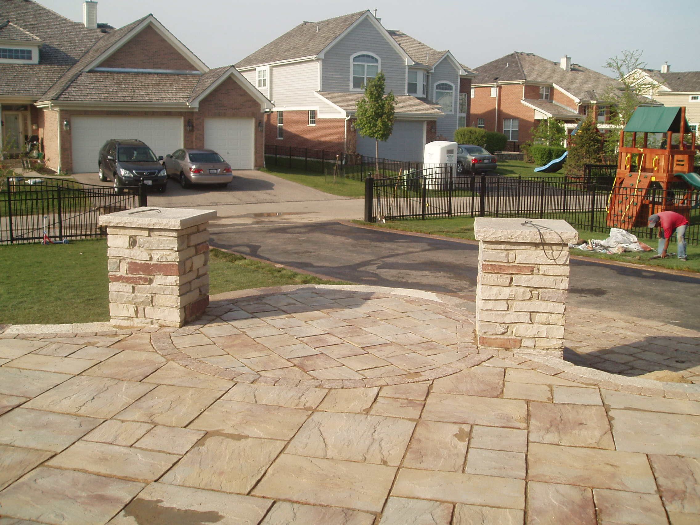 Patio designs by Unilock contractor in Buffalo Grove, IL