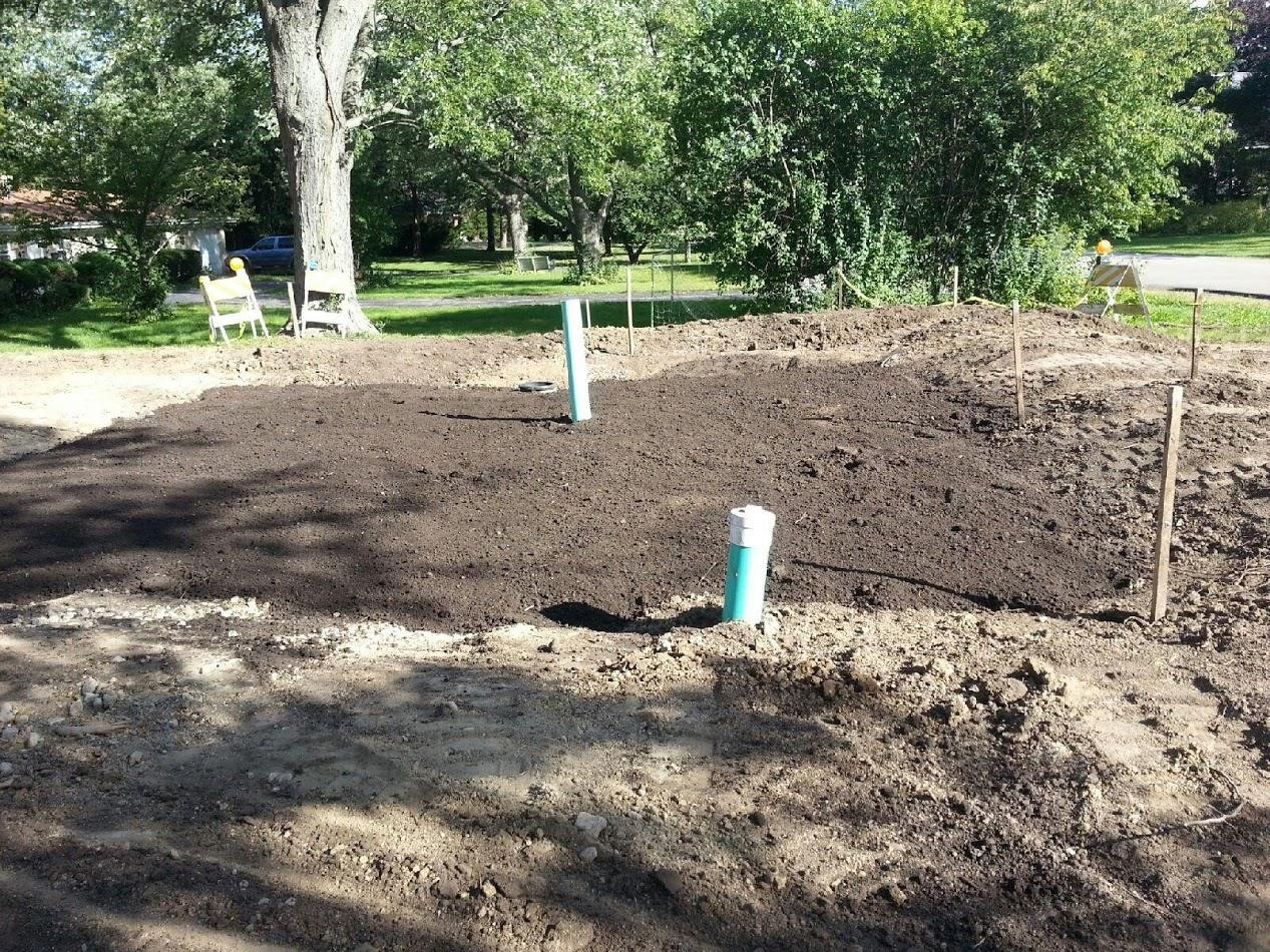Landscape contractors with grading landscaping services in Northbrook, IL