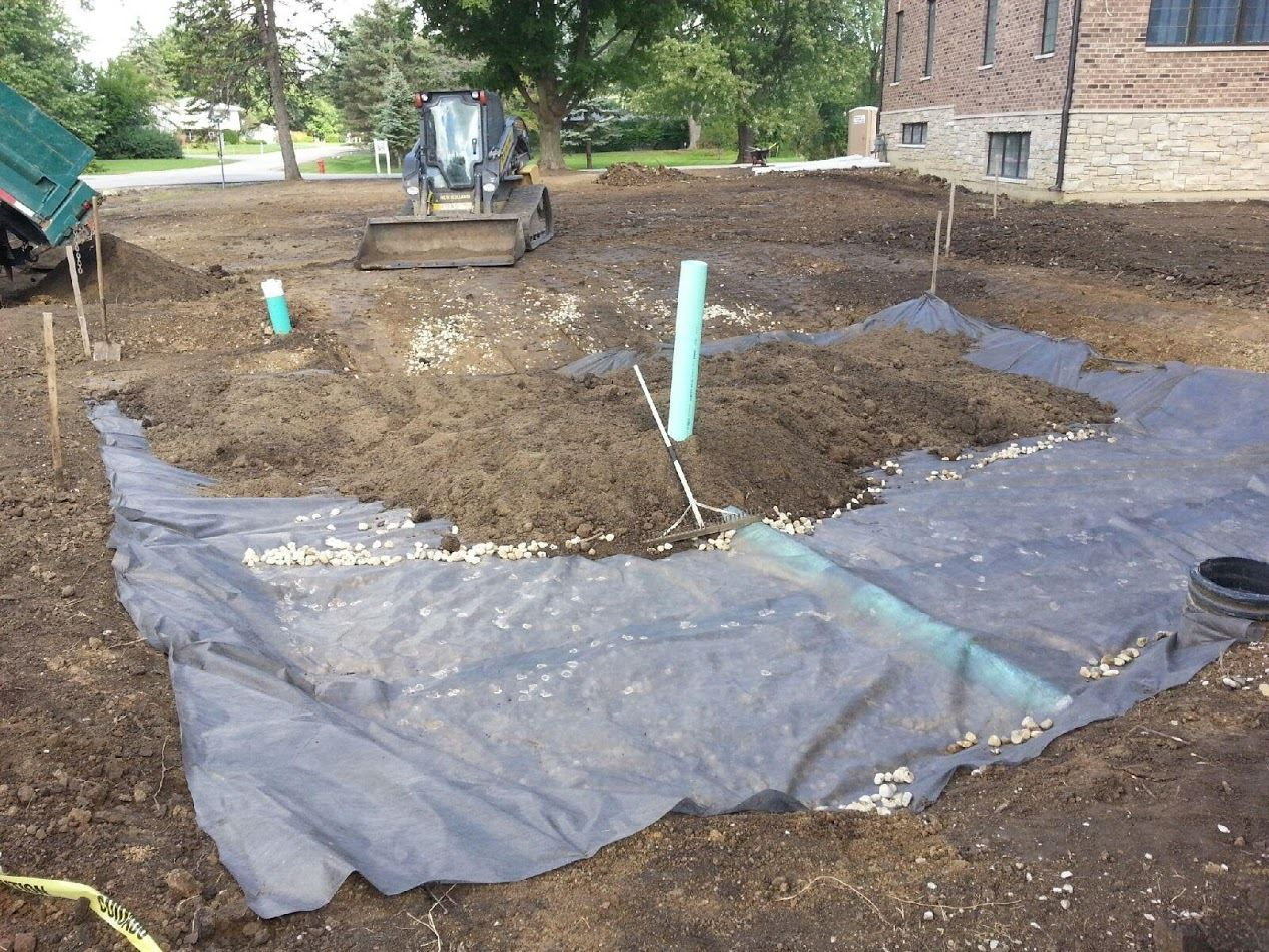 Grading is often needed before landscape design can become reality in Northbrook, Buffalo Grove, IL