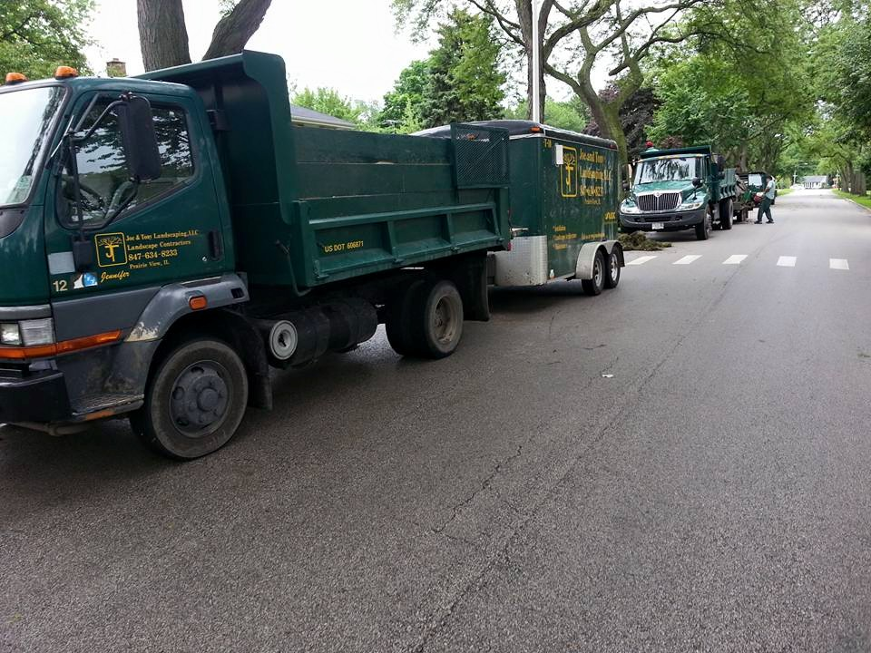 Excavating and demolition landscaping services in Glenview, IL