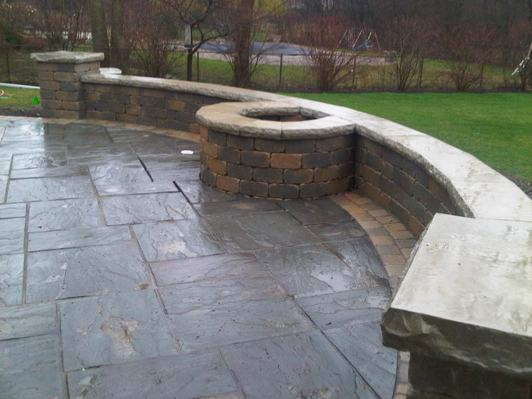 Functional landscape design in Lake Forest, Illinois