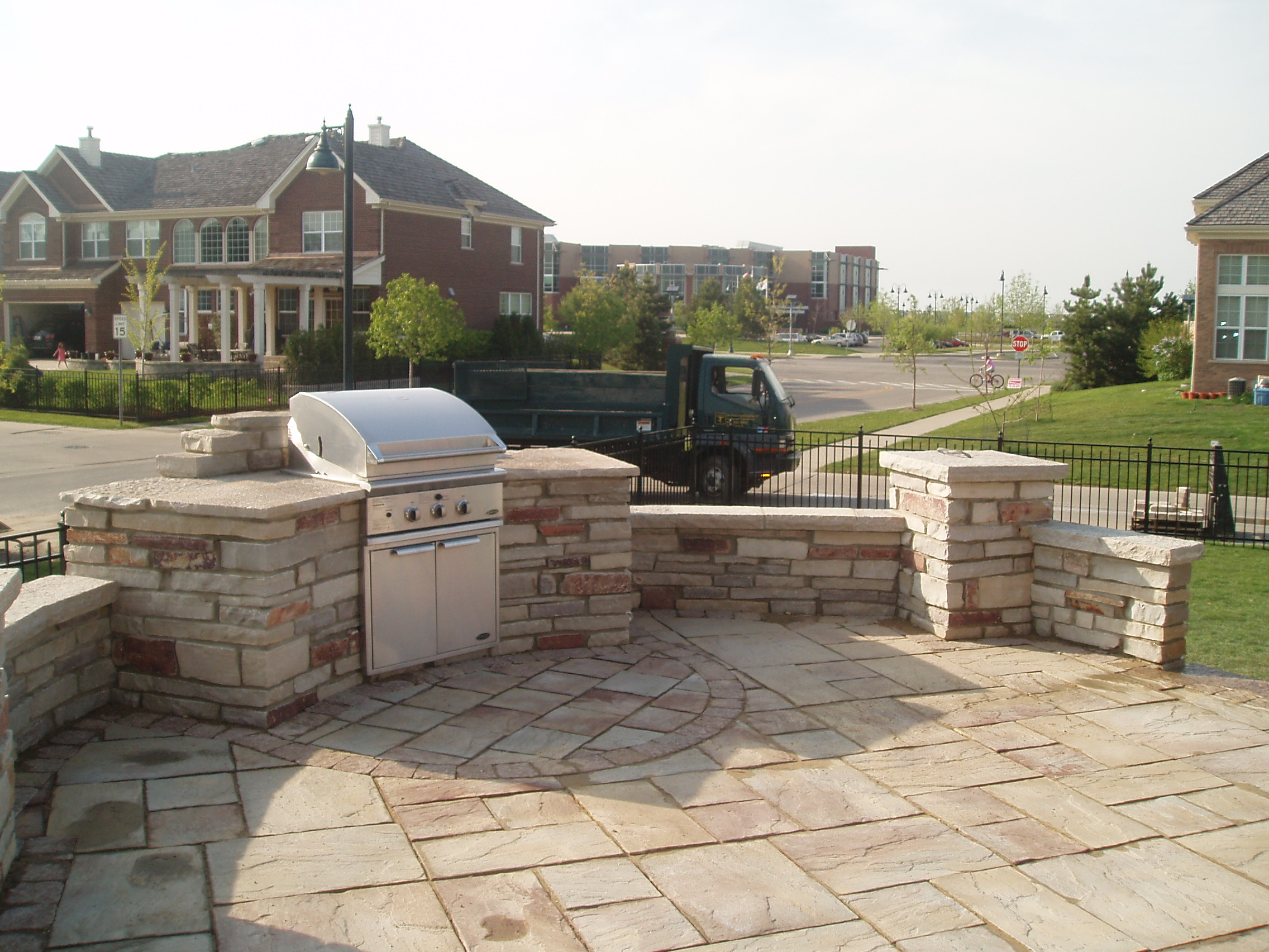 Highland Park, Illinois top quality outdoor kitchen