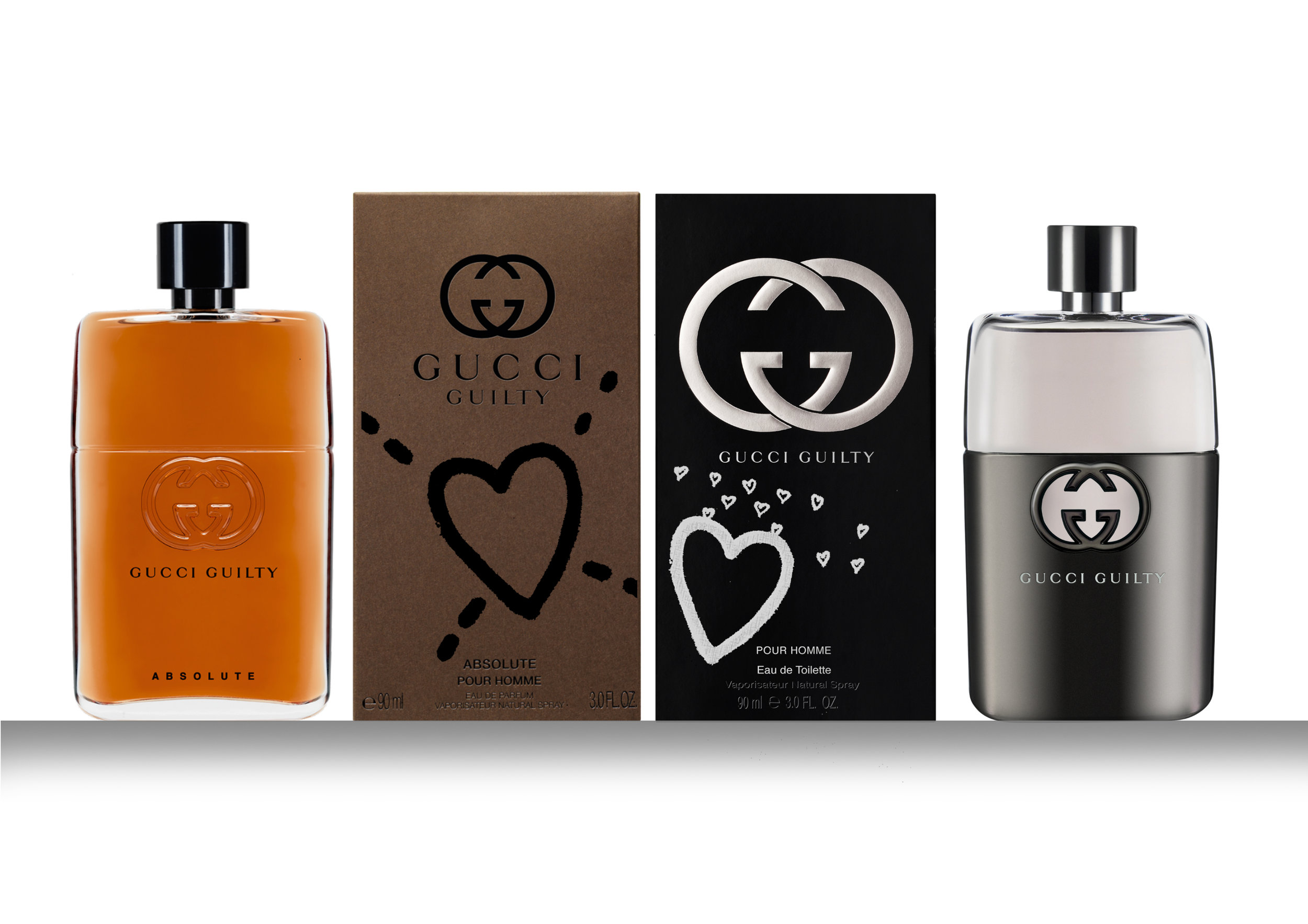 Design and Visualise Gucci Guilty Fathers Day Sleeves