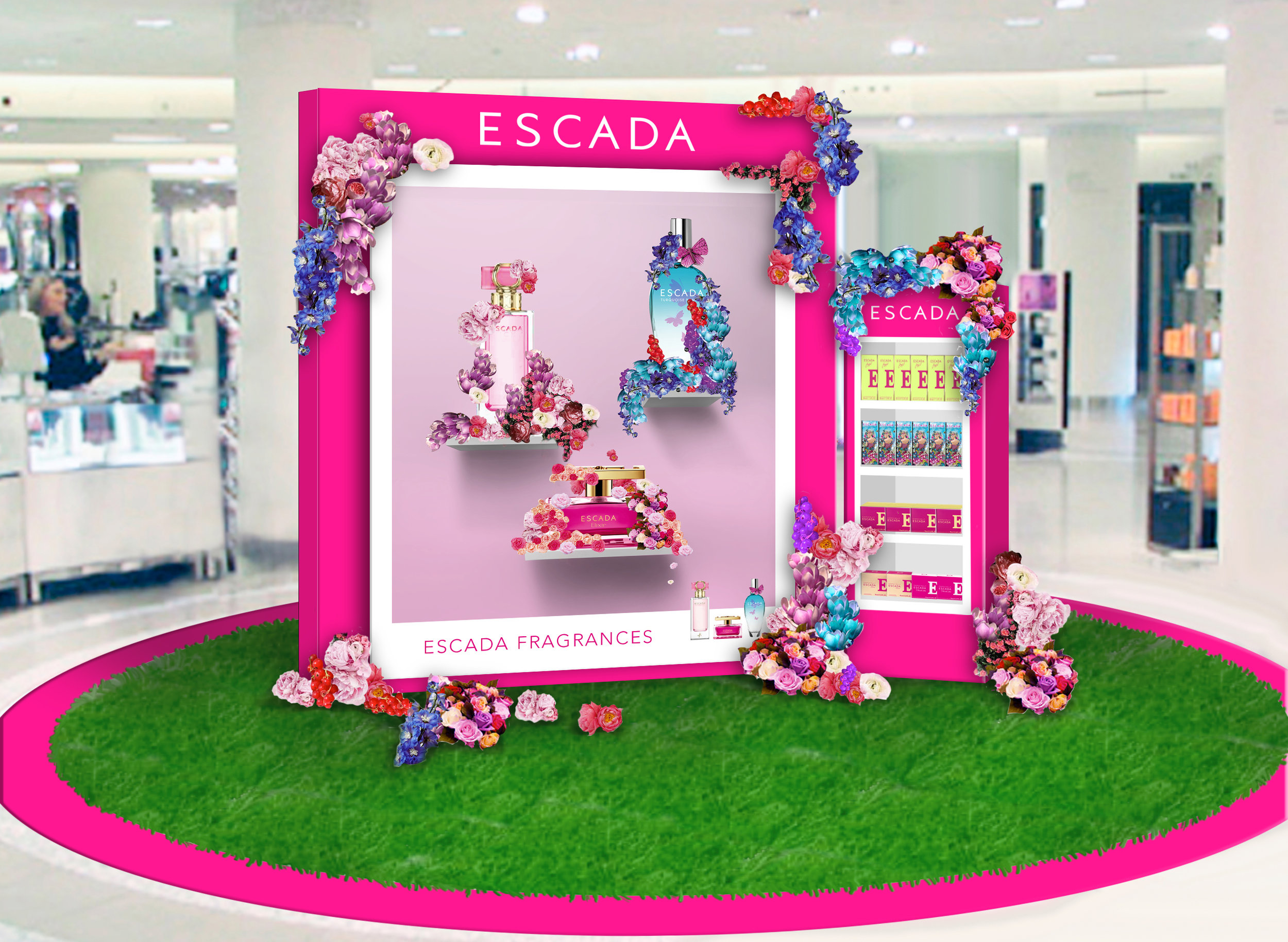 Visualisation for in-store display