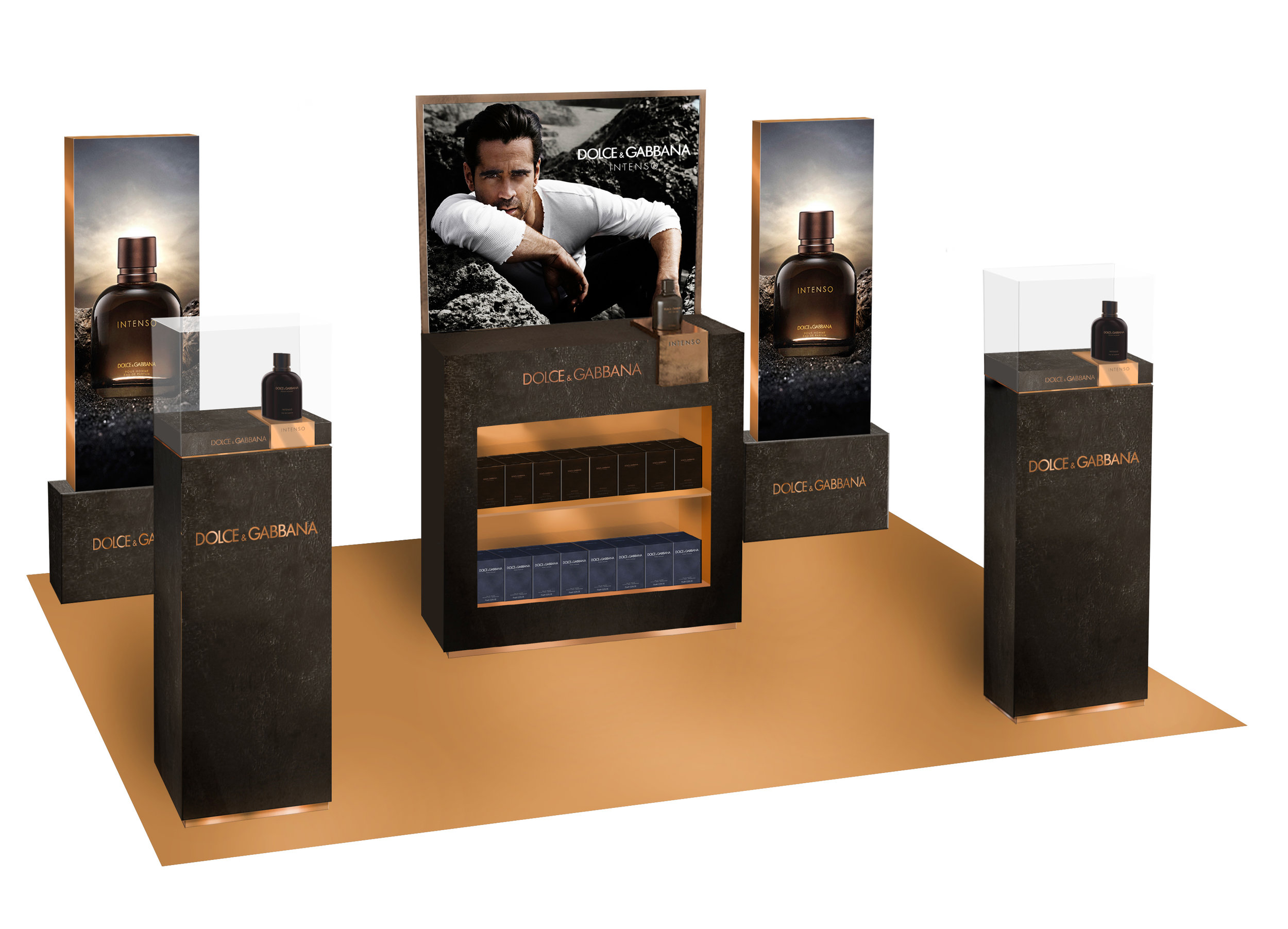Digital Visualisation for launch of Intenso