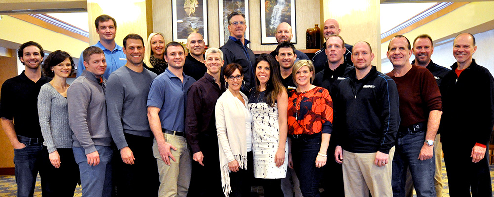 Our Sales Team at our December 2016 Meeting
