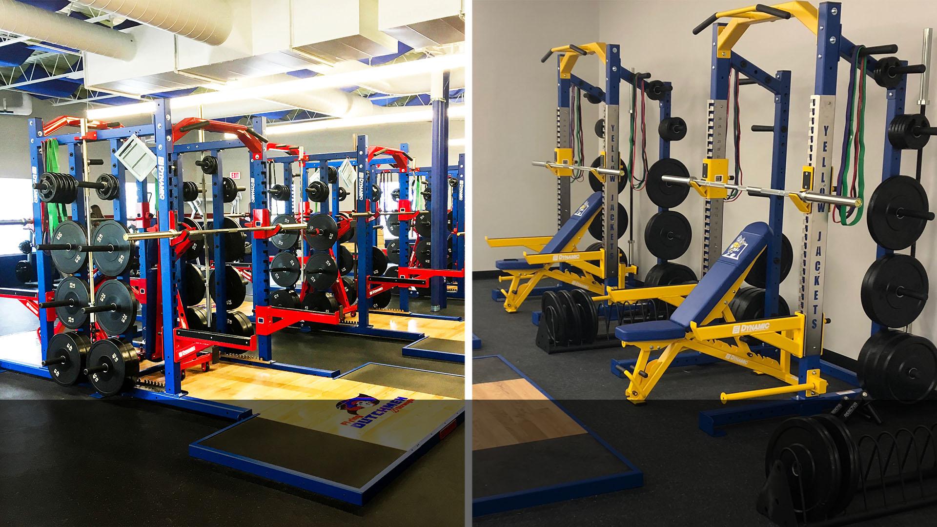 Dynamic Strength + Fitness Racks