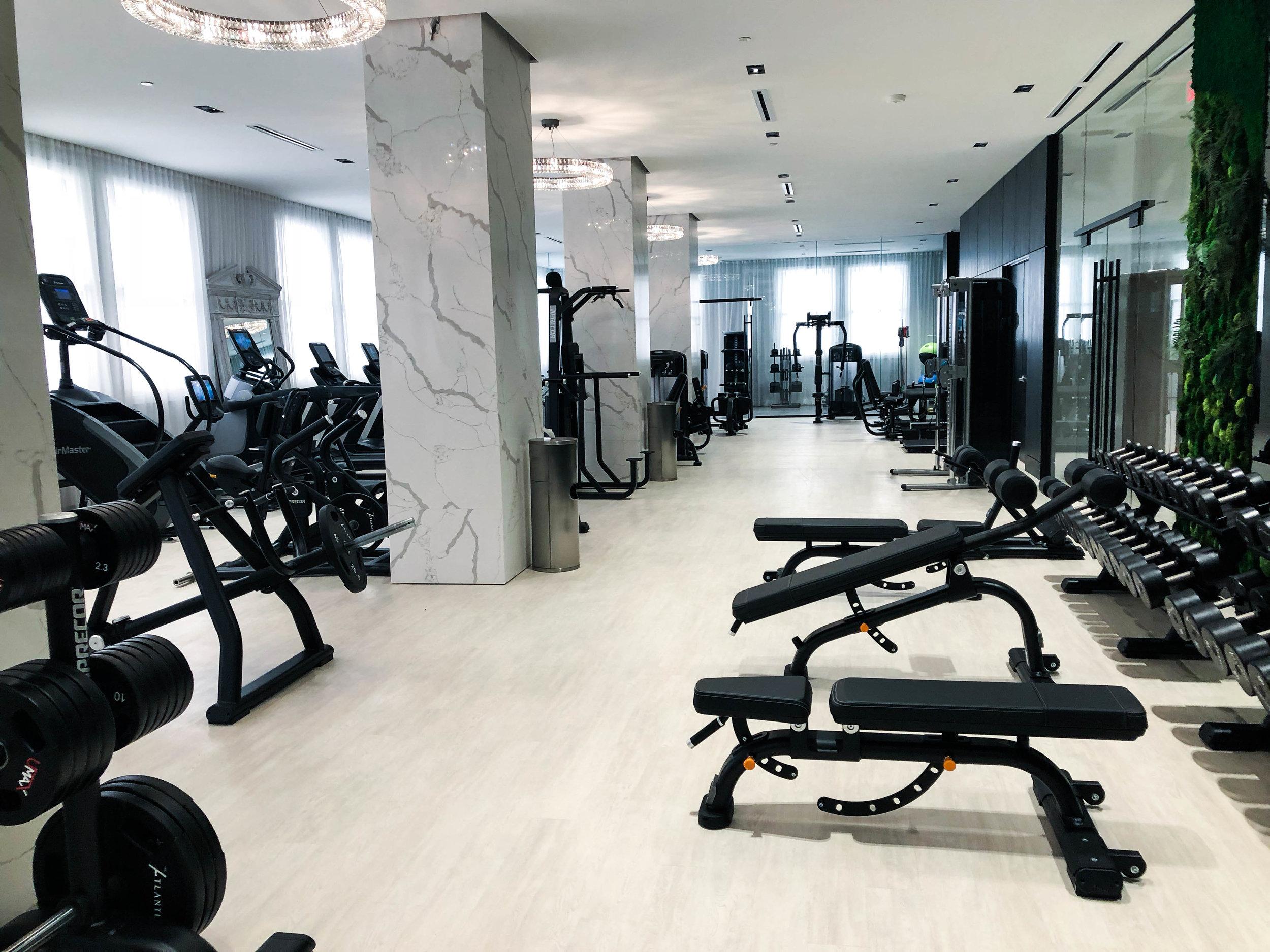 Multi-family Fitness Amenity - The Atlantic