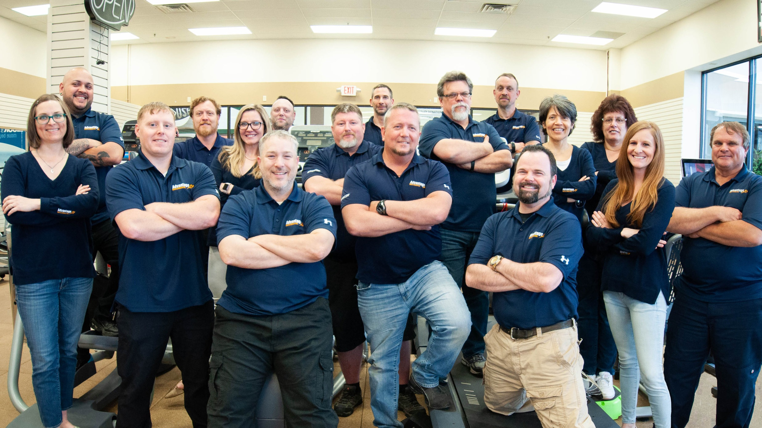 OUR CUSTOMER SERVICE TEAM Our Precor-certified service technicians offer equipment repair and preventative maintenance for facilities located in Upstate New York, Pennsylvania, West Virginia, and North Carolina.