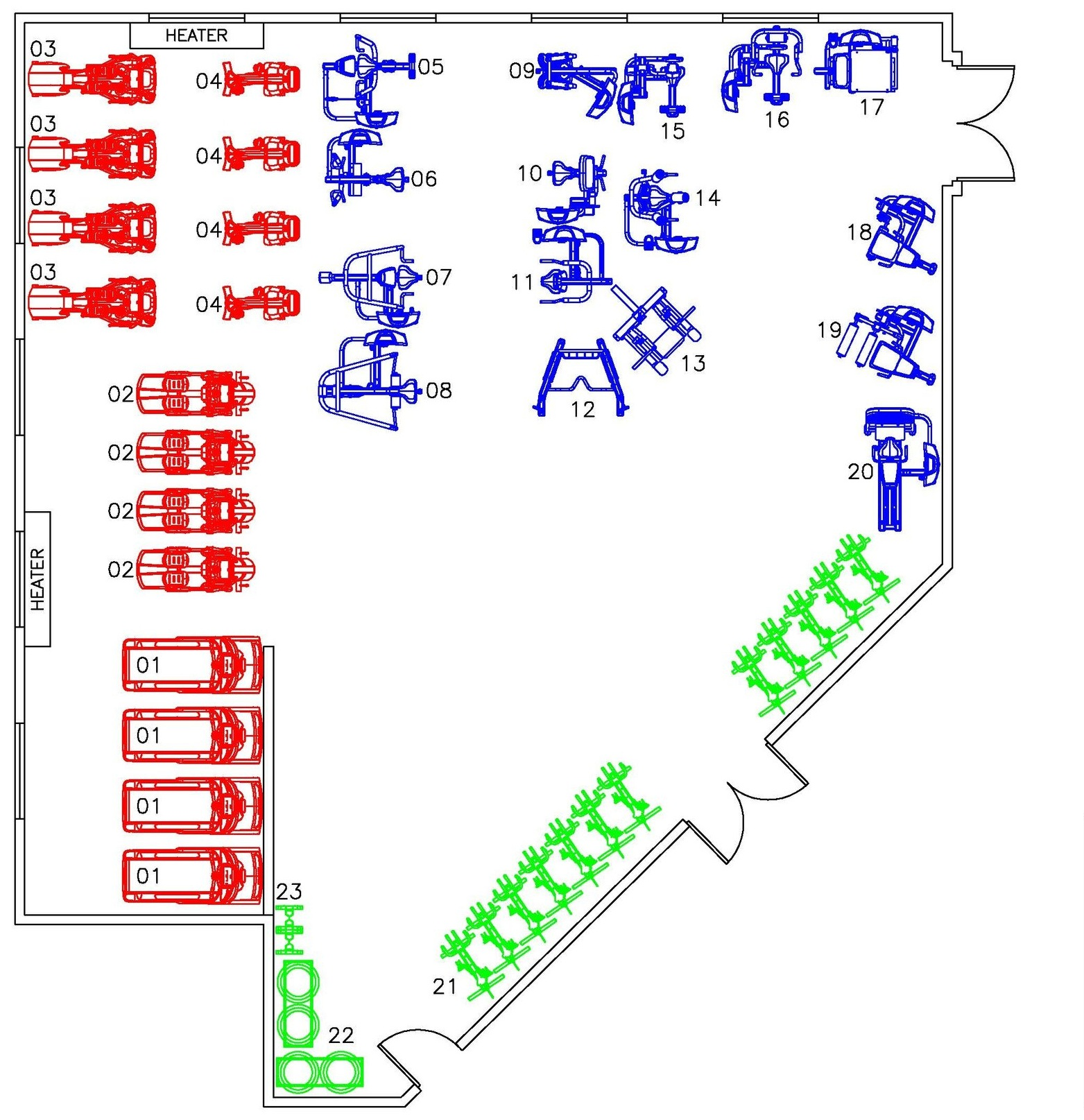 Draft layout done by ASF in 2011