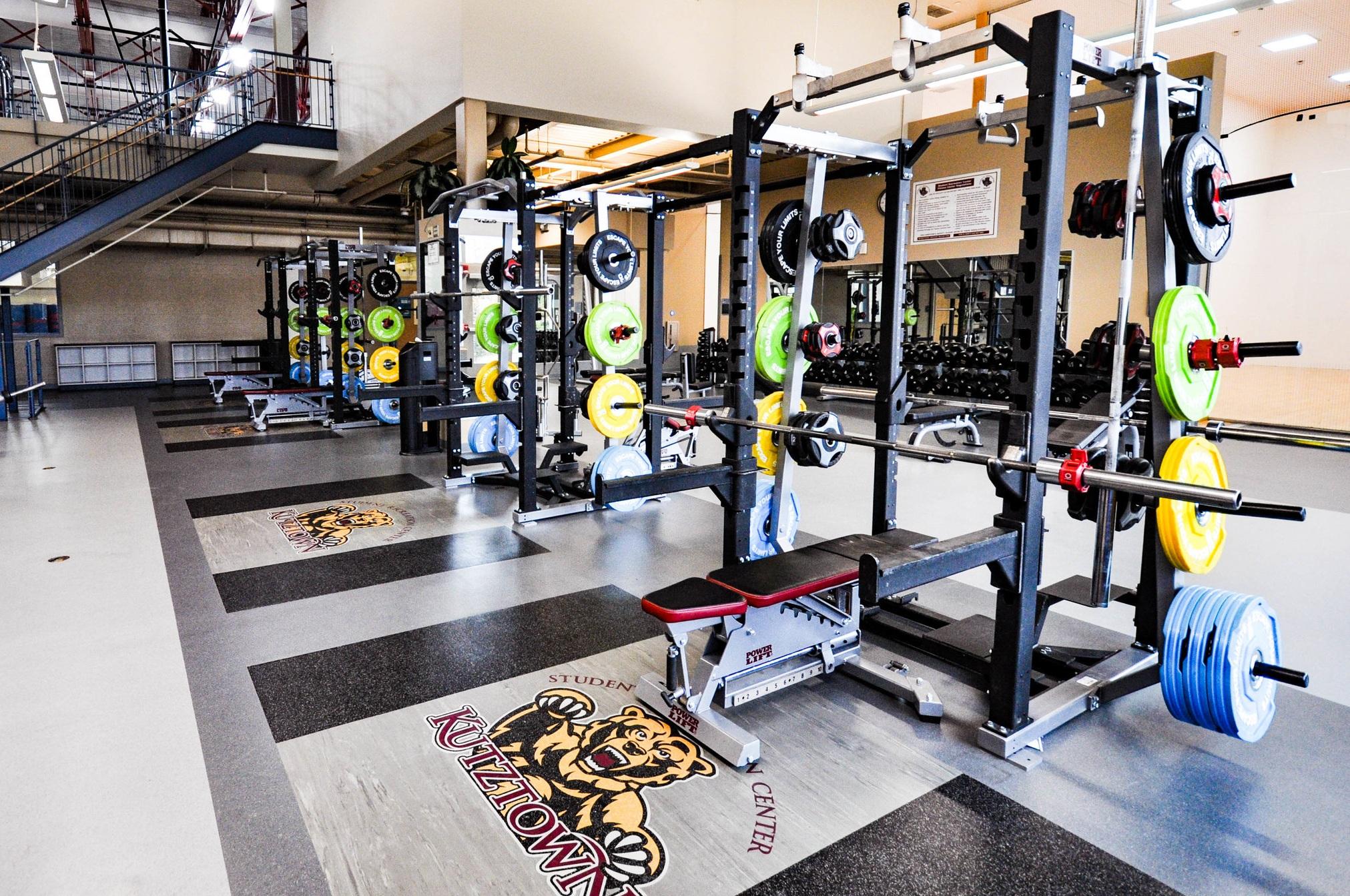 Custom+Weight+Lifting+Platforms+at+Kutztown+University