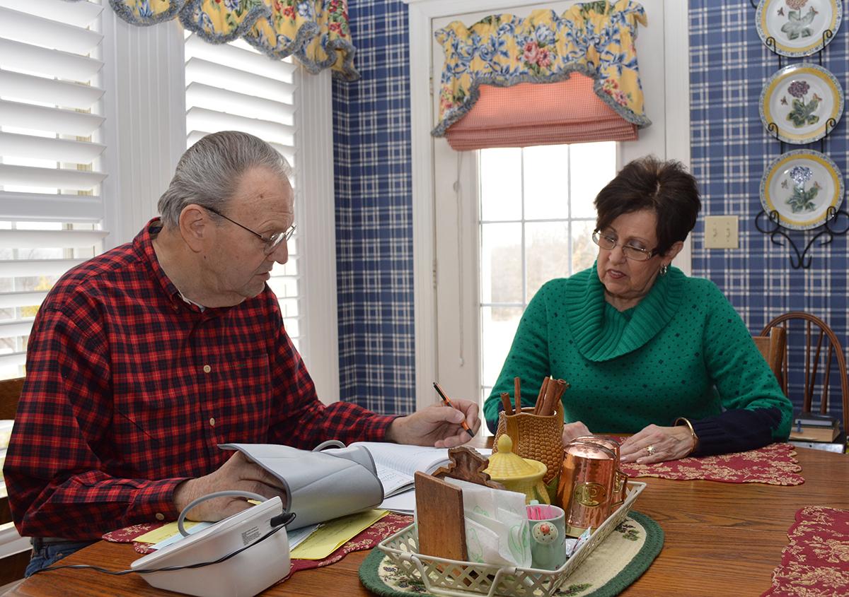 Martin and Carol Duffner - of Festus, Missouri