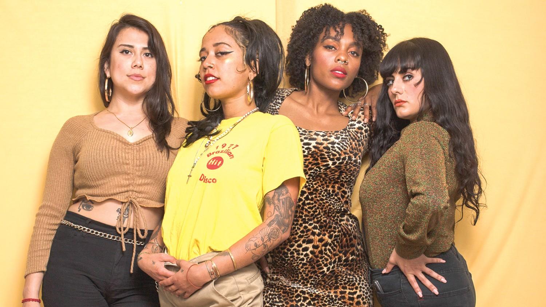 B-side Brujas - Oakland based vinyl DJ's — Spinning Souldies, Salsa, Funk, Freestyle!