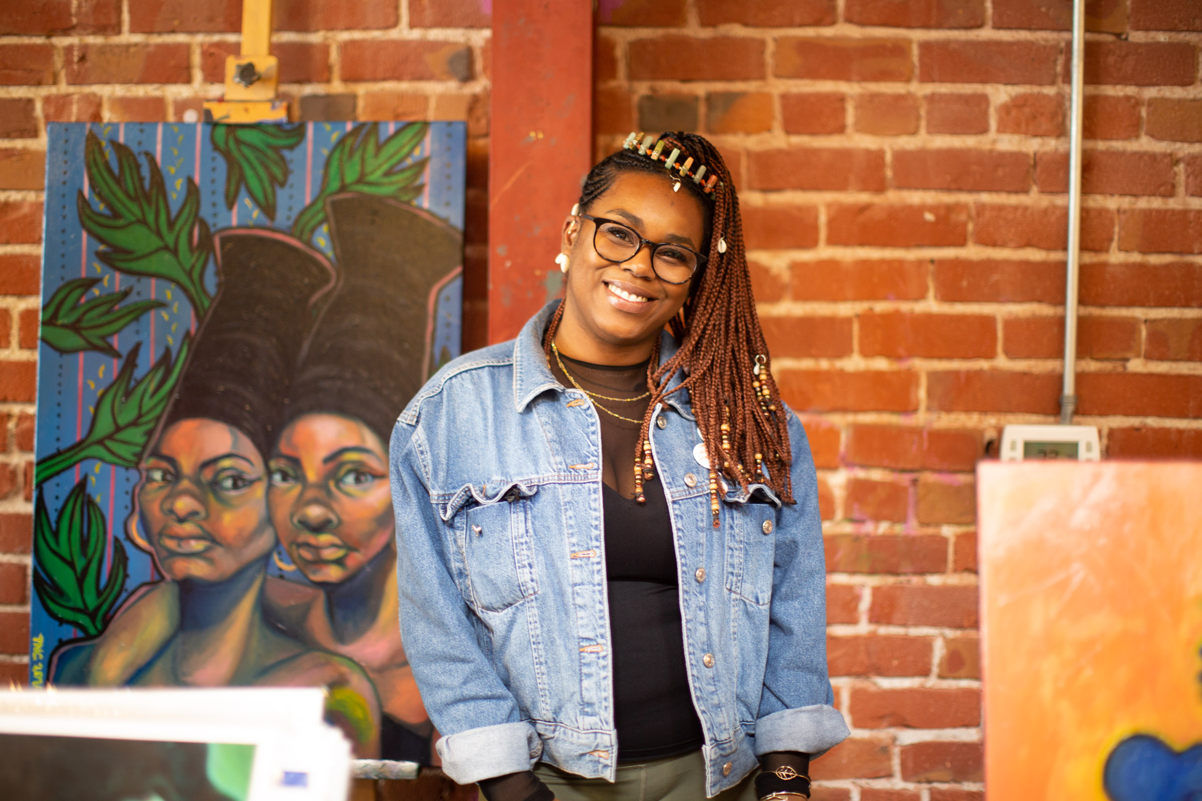 Artist Tiffany Convay. Photo by Tumay Aslay.